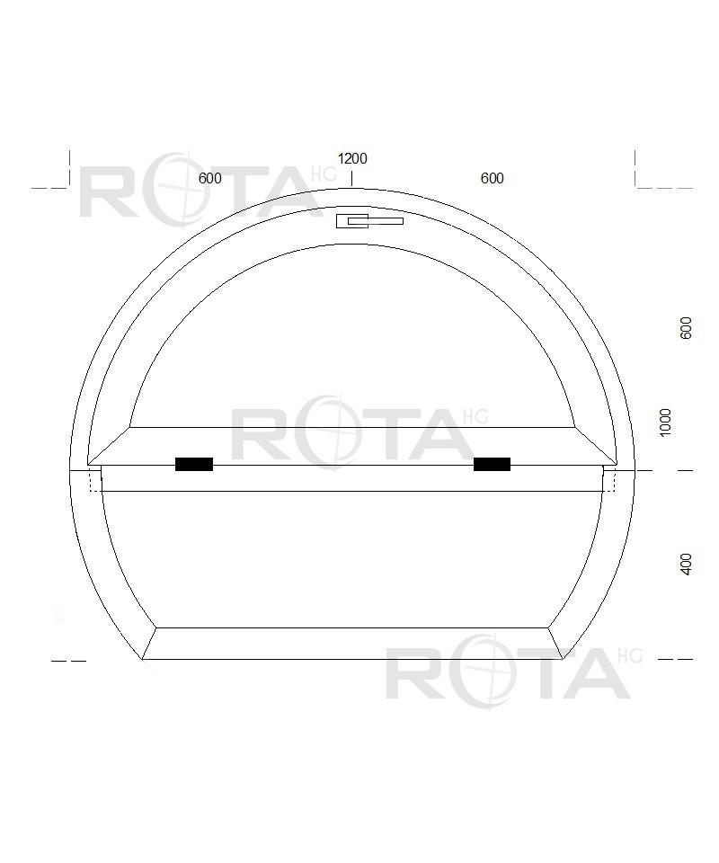 Fen tre ronde fixe et soufflet 1200x1000mm pvc oeil de for Fenetre oeil de boeuf