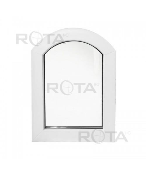 Fenêtre Cintrée 600x900 Arc Surbaissé Fixe Pvc