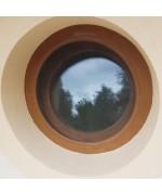 Moustiquaire pour une fenêtre ronde