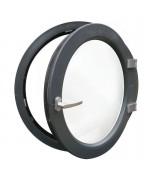 Fenêtre ronde à la française PVC en couleur oeil de boeuf