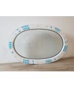 Fenêtre ovale fixe 900x600 PVC Blanc