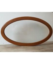 Fenêtre ovale fixe 1160x660 PVC Chêne Doré