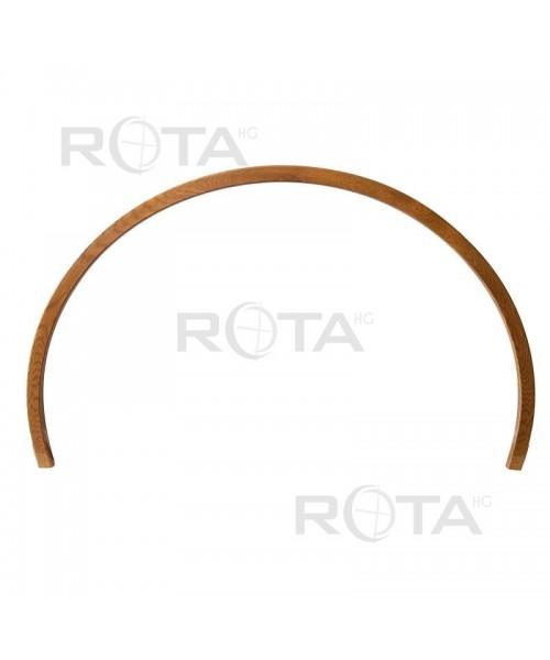 Couvre-joint PVC couleur bois ou RAL pour fenêtres rondes ou demi-lunes