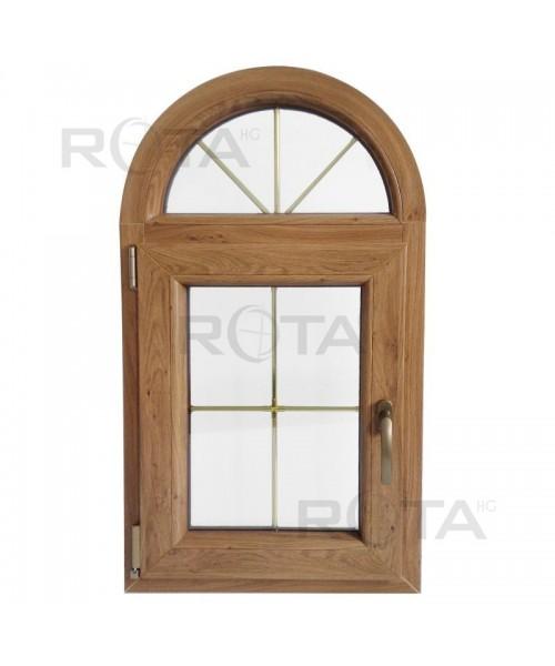Fenêtre plein cintré 570x1000 à la française PVC Winchester