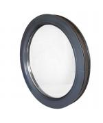 Fenêtre ronde fixe PVC oeil de boeuf en couleur