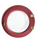 Fenêtre ronde à la française PVC en couleur RAL oeil de boeuf