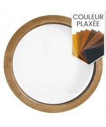 Fenêtre ronde fixe PVC en couleur