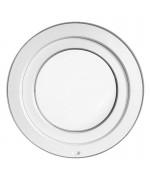 Fenêtre ronde à soufflet PVC blanc avec collerette d'habillage de 2cm