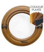 Fenêtre ronde basculante ou pivotante PVC en couleur