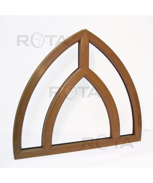 Fenêtre en ogive 1150x1050mm cintré PVC