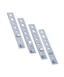 Pattes de fixation pour les menuiseries PVC VEKA