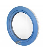 Fenêtre ronde à l'italienne PVC en couleur RAL
